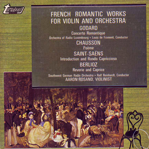 Godard, Chausson, Saint-Sa?ns -  French Romatic Works For Violin And Orchestra