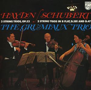 Haydn/Schubert - Das Grumiaux Trio - String Trio in G Major /  Trio in B Flat Major