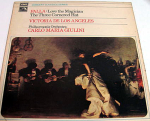 Falla - GIULINI PHILHARMONIA ORCHESTRA - Love Magician,  Three Cornered Hat