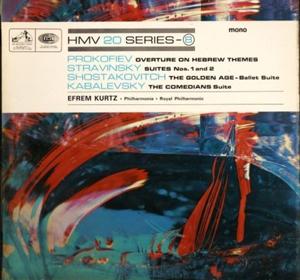 Prokofiev - Stravinsky -Shostakovitich -Kabalevsky - Overture on hebrew themes - Golden Age - Comedi