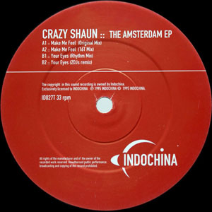 Crazy Shaun - The Amsterdam EP