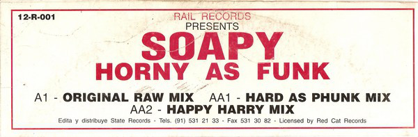 SOAPY - HORNY AS FUNK