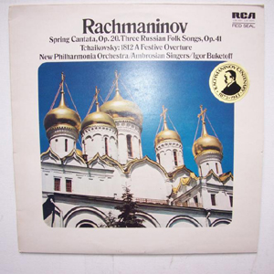 Rachmaninov - New Phil. Ambrosian Singers - Spring Cantata Op. 20 - 3 Russian Folk songs