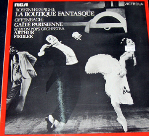 rossini respighi offenbach la boutique fantasque gait parisienne 33013 classical classical. Black Bedroom Furniture Sets. Home Design Ideas