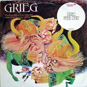 Greig -  Alexander Gibson - Peer Gynt