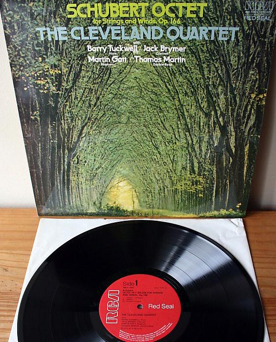 SCHUBERT - Cleveland Quartet - Octet for Strings & Wind