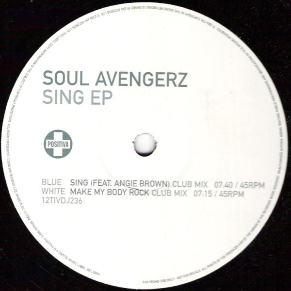 Soul Avengerz - Sing Ep