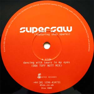 Supersaw Featuring Shaz Sparks - Dancing With Tears In My Eyes