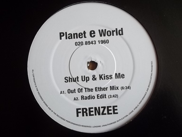 Frenzee - Shut Up & Kiss Me