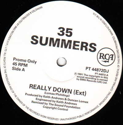 35 Summers - Really Down
