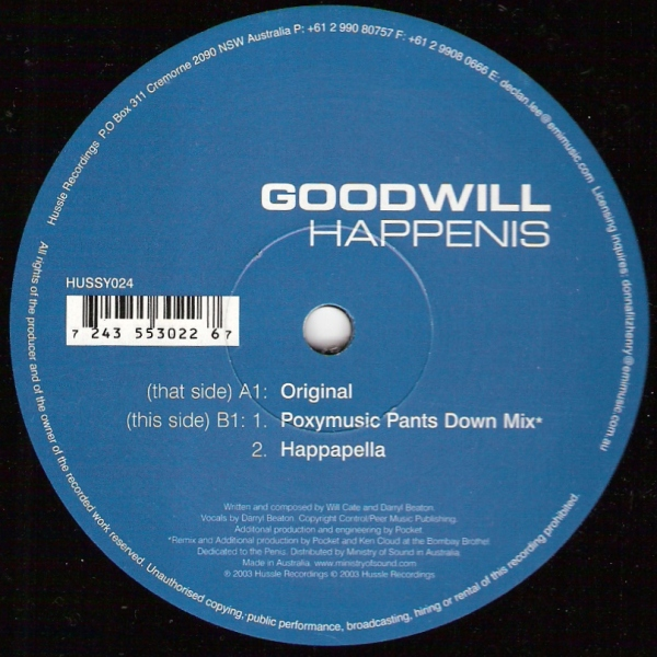 Goodwill - Happenis