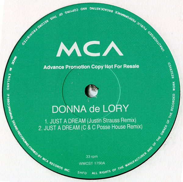 Donna de Lory - Just A Dream