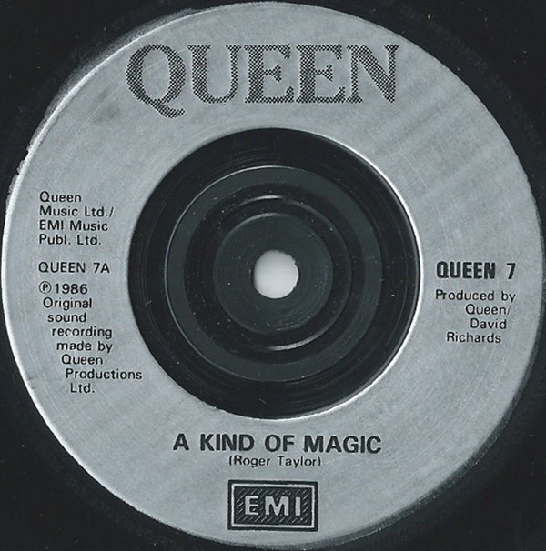 Queen -  A Kind Of Magic / A Dozen Red Roses