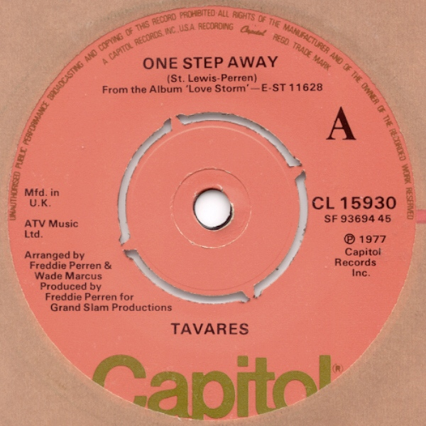 Tavares - One Step Away