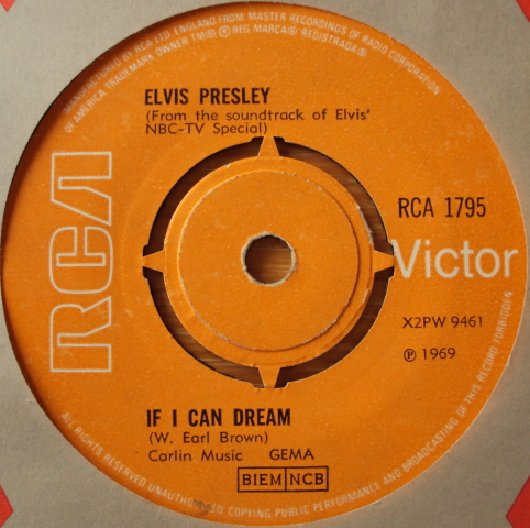 Elvis Presley - If I Can Dream / Memories