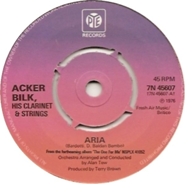 Acker Bilk, His Clarinet & Strings - Aria