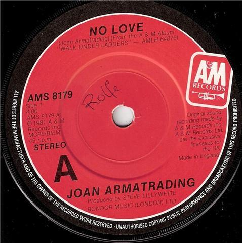 Joan Armatrading - No Love