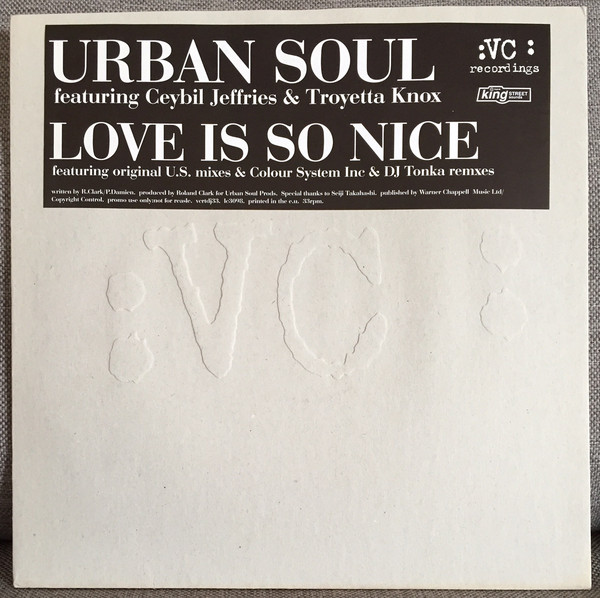 Urban Soul - Love Is So Nice
