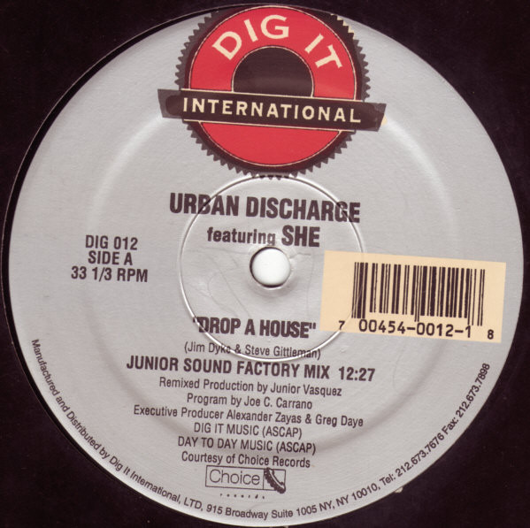 Urban Discharge - Drop A House (The Ultimate Factory Mixes)