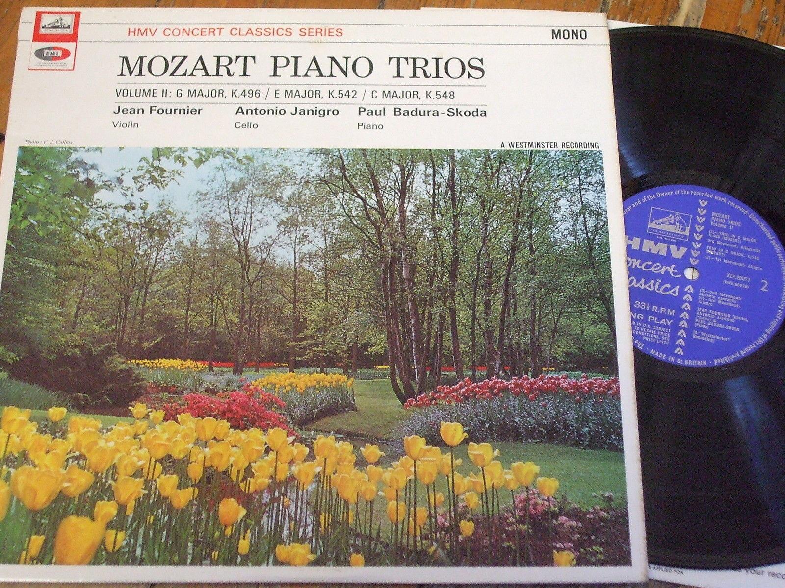 Jean Fournier / Janigro - Mozart Piano Trios Vol. 2
