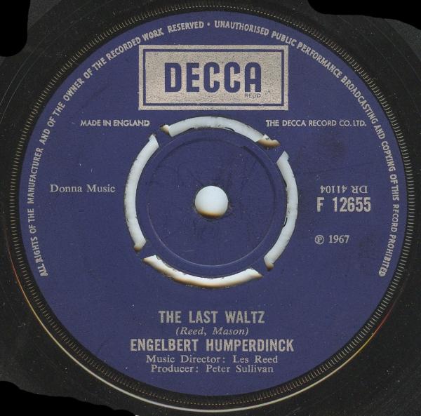Engelbert Humperdinck - The Last Waltz / That Promise