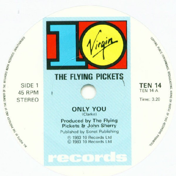 Flying Pickets, The - Only You
