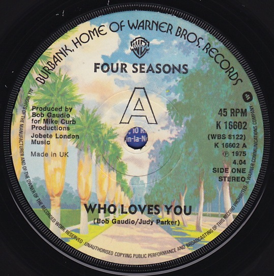 Four Seasons - Who Loves You