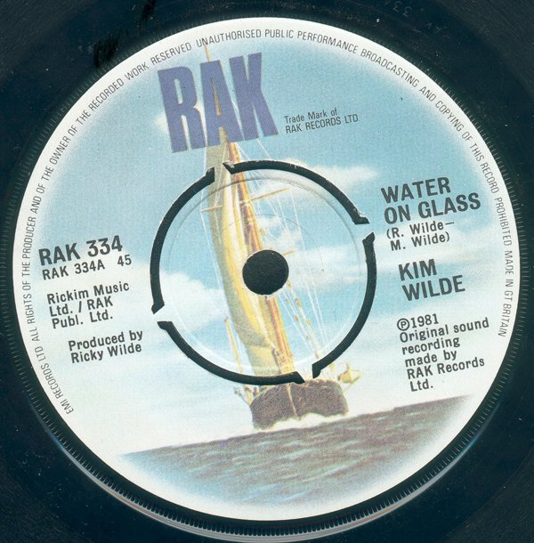 Kim Wilde - Water On Glass