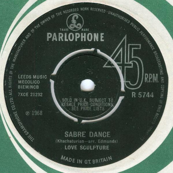 Love Sculpture - Sabre Dance / Think Of Love