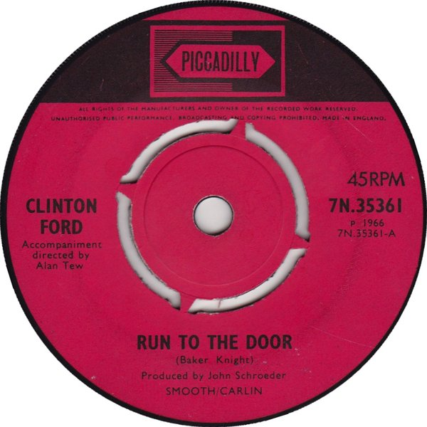Clinton Ford - Run To The Door