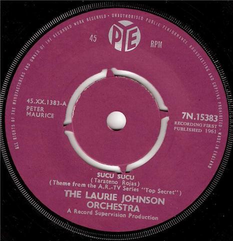Laurie Johnson Orchestra, The - Sucu Sucu