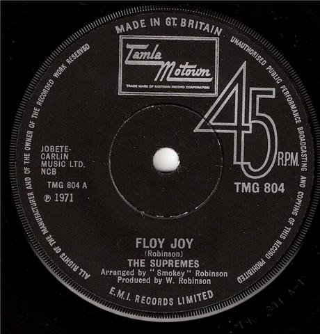 Supremes, The - Floy Joy