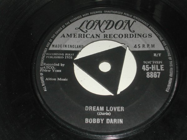 Bobby Darin - Dream Lover / Bullmoose