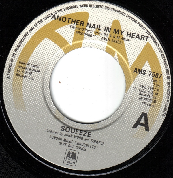 Squeeze Another Nail In My Heart Records Lps Vinyl And
