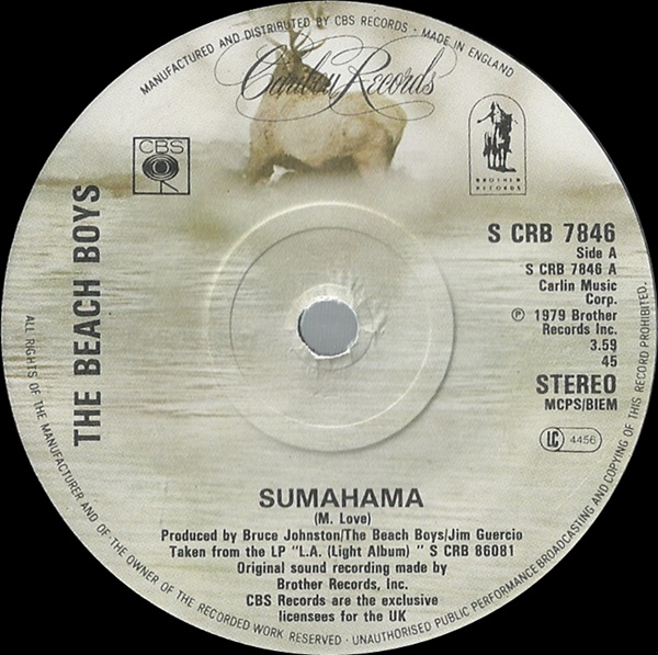 Beach Boys, The - Sumahama
