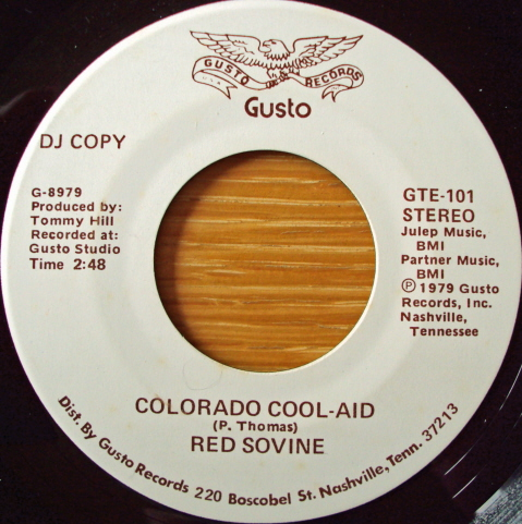 Red Sovine - Colorado Cool-Aid / The Days Of Me And You