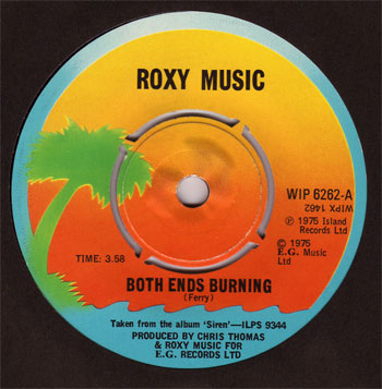 Roxy Music - Both Ends Burning