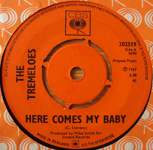 Tremeloes - Here Comes My Baby CD