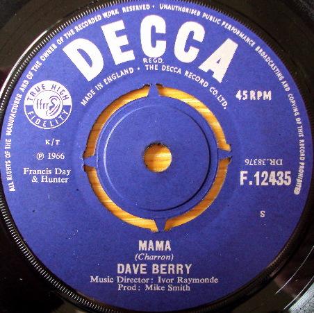 Dave Berry - Mama