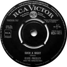 Elvis Presley With Jordanaires, The - Such A Night
