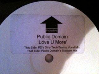 Public Domain - Love U More