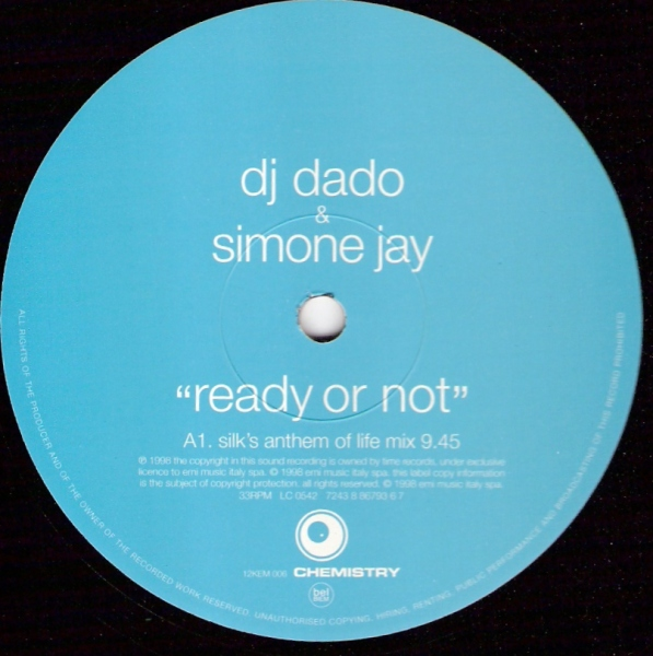 DJ Dado & Simone Jay - Ready Or Not