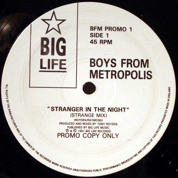 Boys From Metropolis - Stranger In The Night