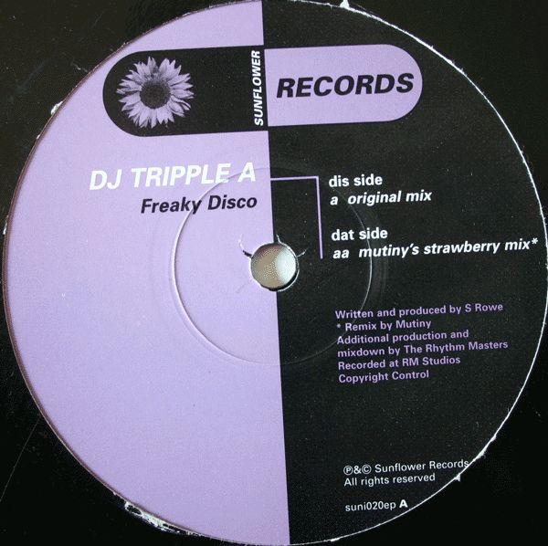 DJ Tripple A - Freaky Disco