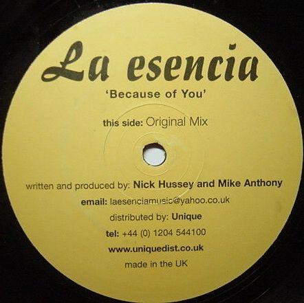 La Esencia - Because Of You