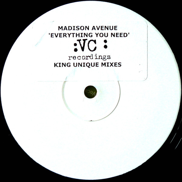 Madison Avenue ? - Everything You Need (King Unique Mixes)