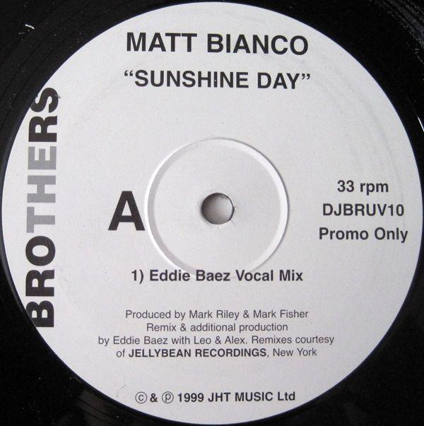 Matt Bianco - Sunshine Day