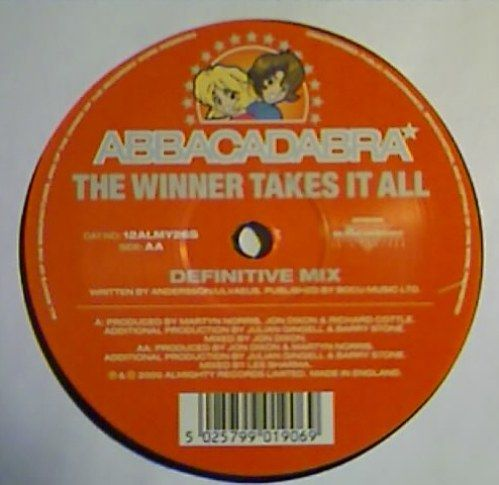 Abbacadabra ? - The Winner Takes It All / Take A Chance On Me