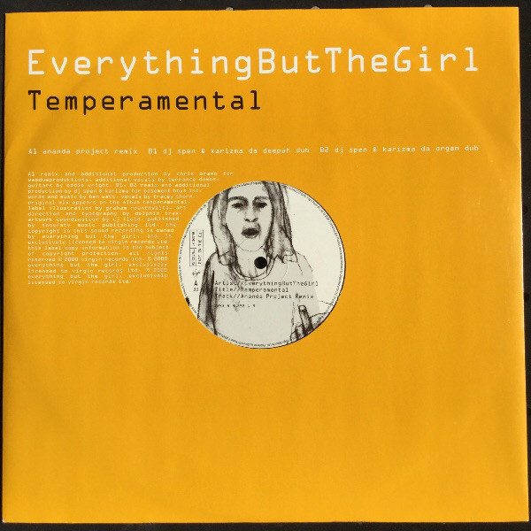 EVERYTHING BUT THE GIRL - TEMPERAMENTAL (ANANDA PROJECT)