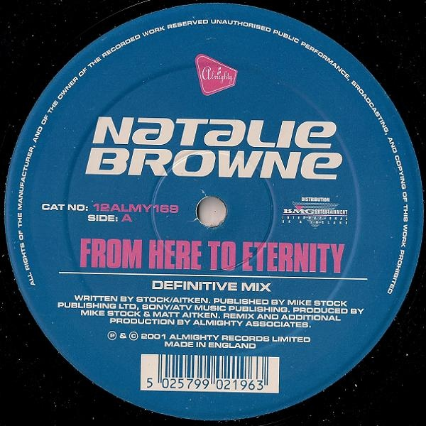 Natalie Browne - From Here To Eternity